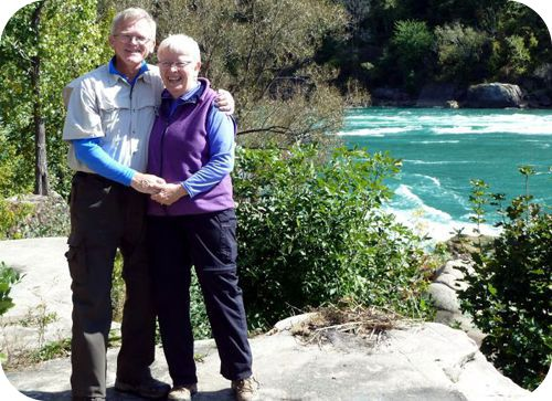Us at Niagara Gorge Whirlpool